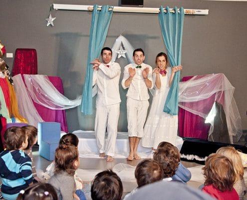מופעי פלייבק לילדים ונוער, ארץ החלומות - תיאטרון פלייגו