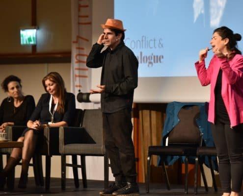 סימולציות עם שחקנים, כנס רפואת שיניים | תאטרון פלייגו